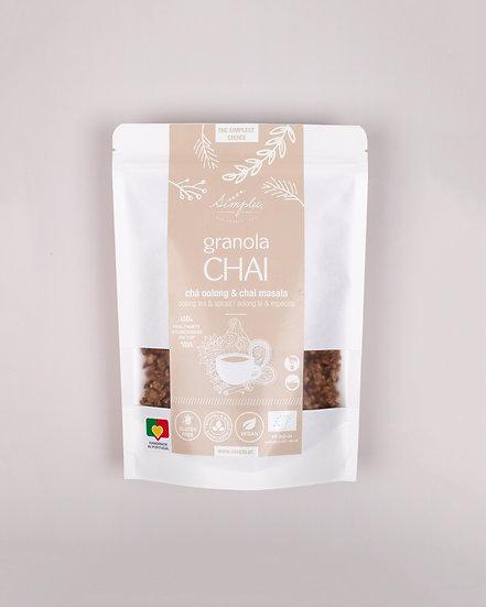 GRANOLA CHAI / chá oolong & chai massala