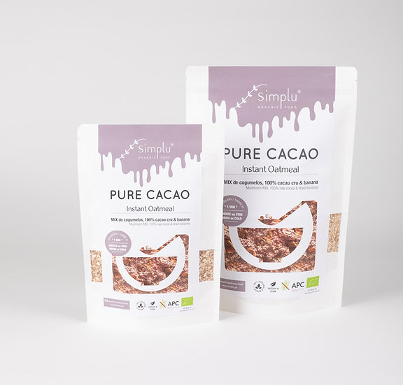 PURE CACAO / instant oatmeal