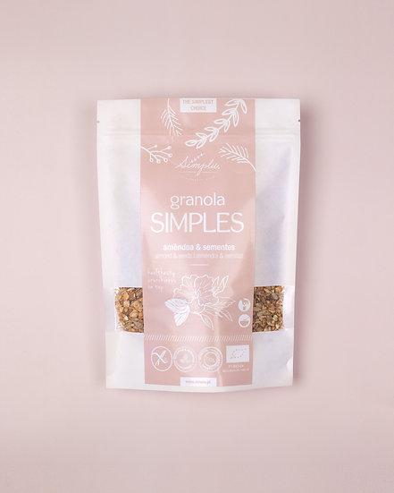 GRANOLA ALMOND / amêndoa e sementes