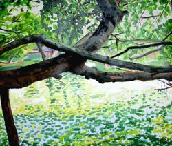 Parkidylle Sommerresidenz des Rama, Thailand.jpg