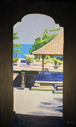 Bali Ausblick auf das Meer
