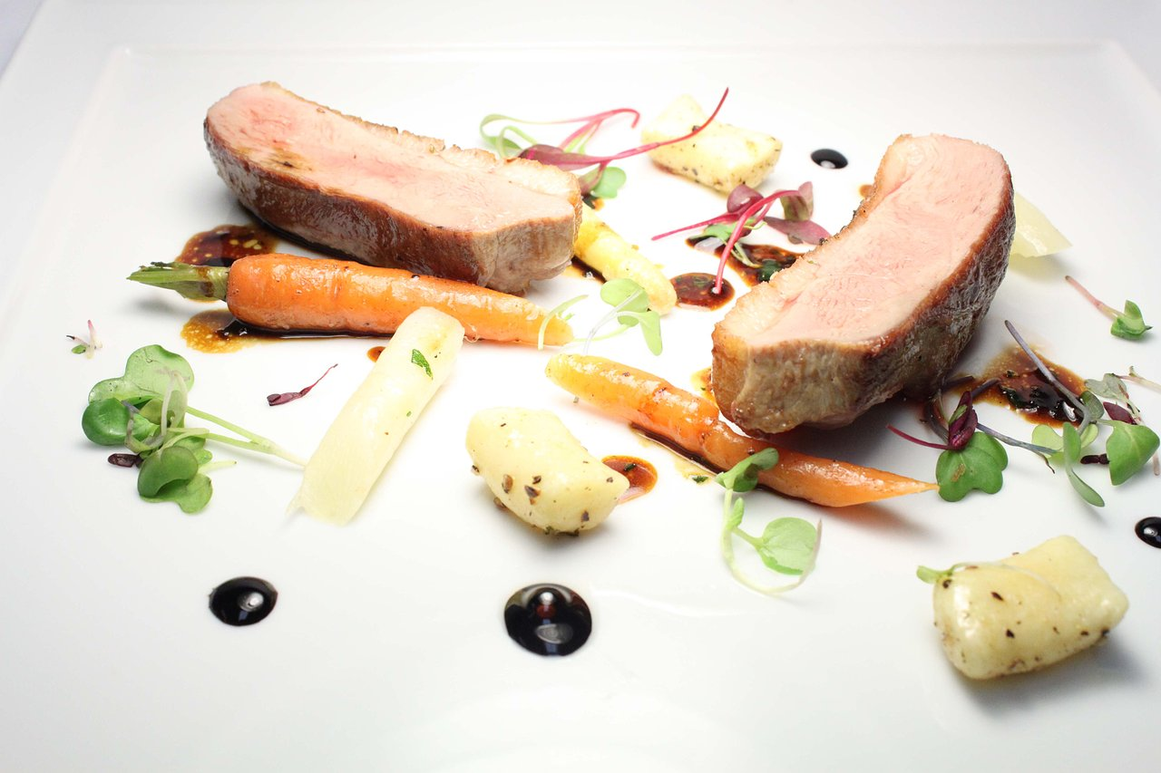 Duck+-+Heirloom+Carrot+-+White+Asparagus+-+Gnocchi+-+Aged+Balsamic