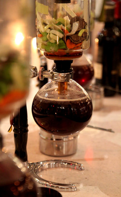 Mushroom Consomme Siphon