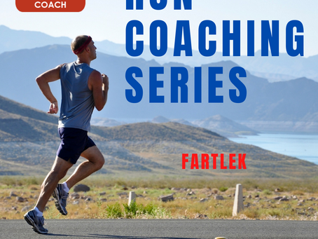 Run Coaching Series. Fartlek.