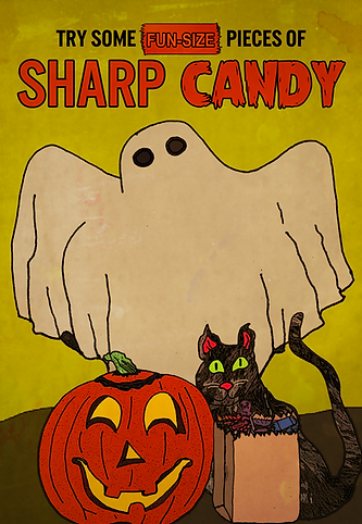 Try Some Fun-Size Pieces of Sharp Candy Poster 1.png