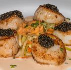Scallops and Caviar