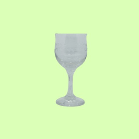 "Copa de cristal tallado ""Pepa"" 1950's"