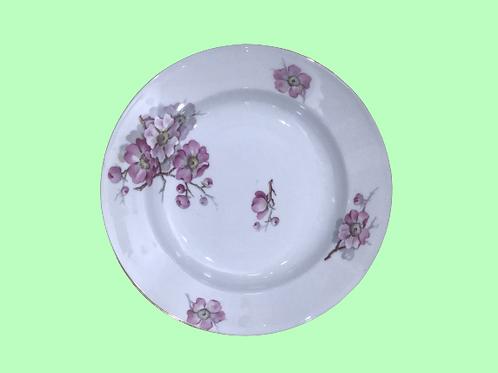"Plato hondo de porcelana  ""Mariola"" 1960's"
