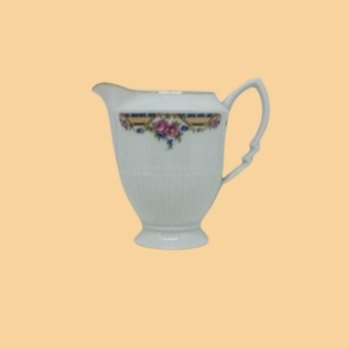 "Jarrita de leche de porcelana belga (Haas & Czjzek)""Paola"" 1930's"