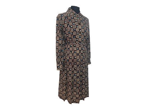 """Vestido de lana """"Kyoko"""" (Vintage Japonés)"""