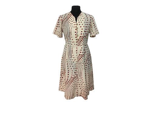 """Vestido """"Umi"""" (Vintage japonés)"""