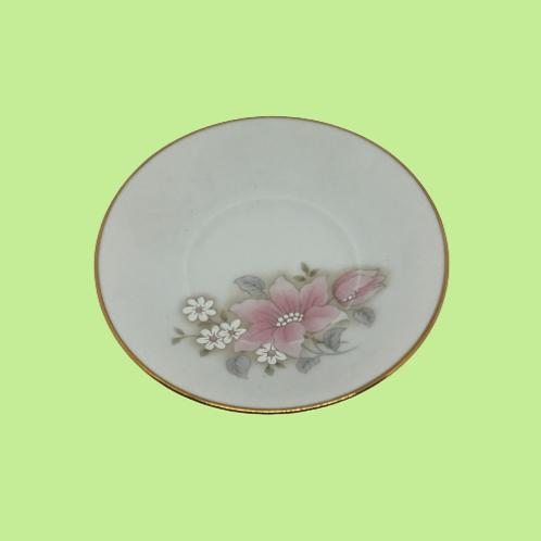 "Plato pequeño 11,5cm porcelana (Limoges) ""Evita"" 1980's"