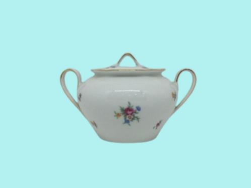 "Azucarero de porcelana (Kahla) ""Augusta"" 1950's"