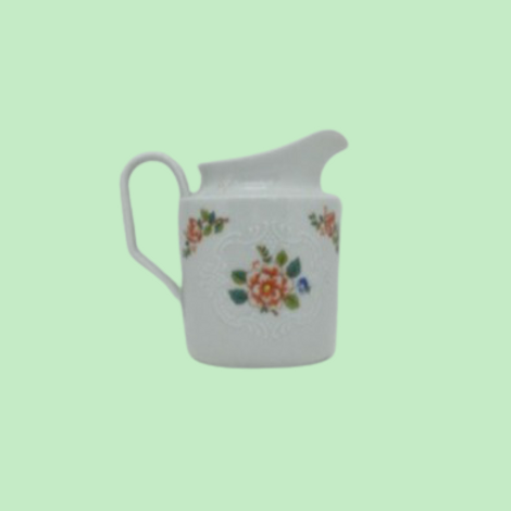 """Jarrita de leche de porcelana alemana (Scherzer) """"Augusta"""" 1950's"""