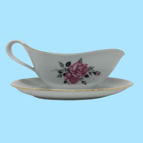 """Salsera de porcelana """"Eugenia de Montijo""""  1940's"""