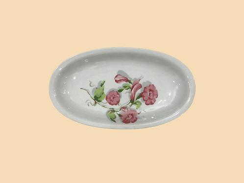 "Bandeja pequeña ""Cora"" porcelana Seltmann weider 1960's"