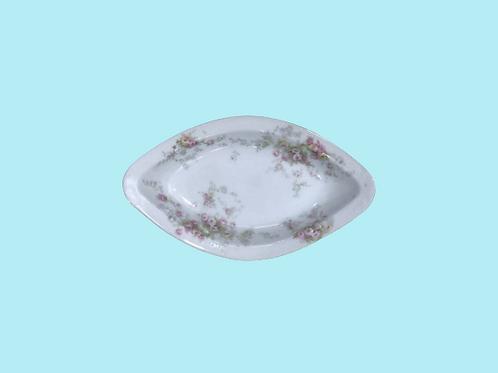 """Bandeja pequeña de porcelana """"Sissi Emperatriz"""" 1900's"""