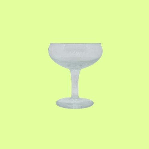 """Copa de cristal de champán """"Lourdes"""" 1980's"""
