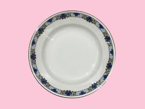 "Plato hondo de porcelana ""Paola"" 1950's"