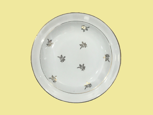 """Plato hondo de porcelana Limoges """"Imogen"""" 1940's"""