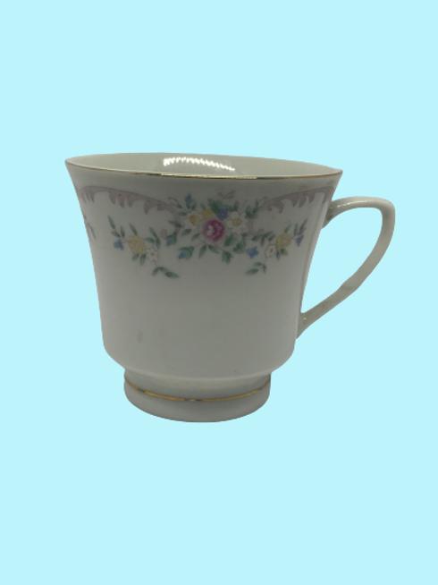 """Taza Grande porcelana china """"Beatriz"""" 1960's"""
