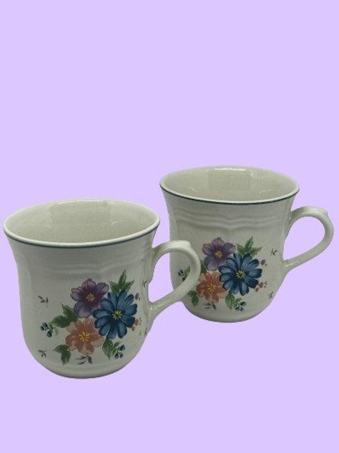 "Taza grande cerámica ""(Jmp newcor ag) Lisa"" 1980's"