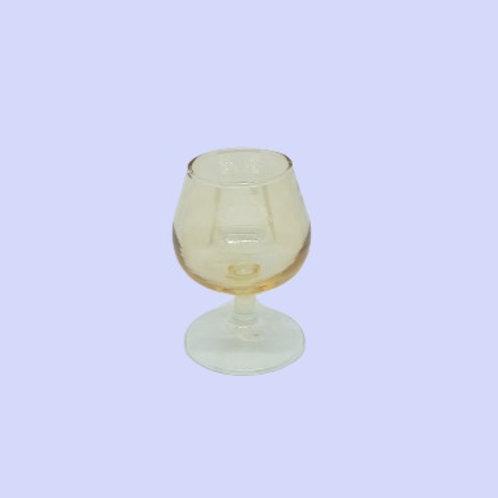 Copa de licor cristal nacarado 1960's