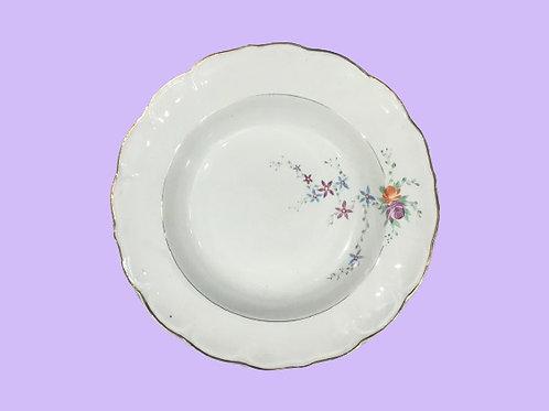 """Plato hondo de cerámica """"Sandra"""" 1930's"""