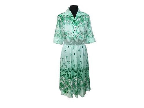 """Vestido """"Midori"""" (Vintage Japonés)"""
