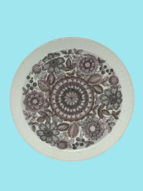"Plato Mediano cerámica ""Pontesa"" 1960's"