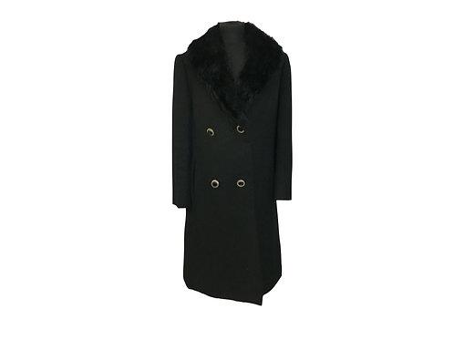 "Abrigo de lana peinada ""Morgana"""