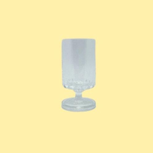 """Copa de cristal """"Carla"""" 1970's"""