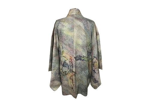 """Kimono (Haori) Seda """"Madoka"""" (Sin Estrenar)"""