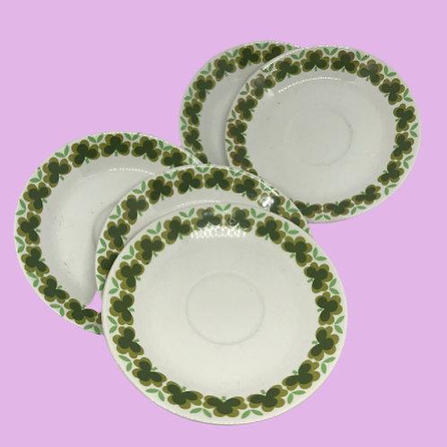 """Plato pequeño  14,5cm porcelana(Pontesa) """"Margarita"""" 1960's"""