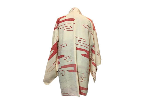 """Kimono (Haori) Seda """"Anzu"""" (Sin Estrenar)"""