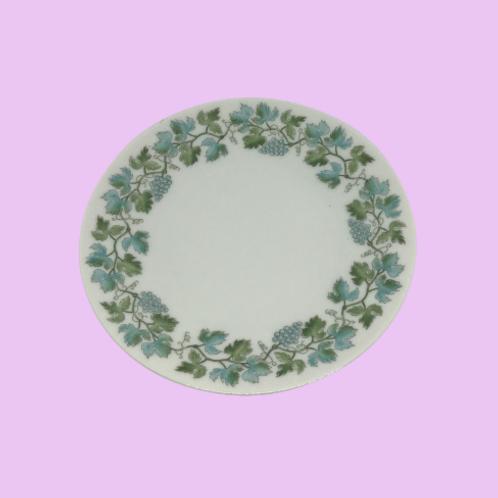 """Plato pequeño 15cm porcelana (Hutschenreuther) """"Helga""""  1960's"""