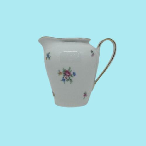 "Jarrita de leche mediana de porcelana alemana (Kahla) ""Augusta"" 1950's"