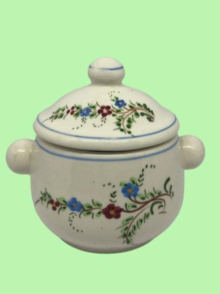 """Azucarero de cerámica """"Margaret"""" 1970's"""