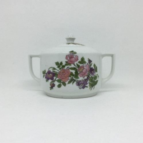 """Azucarero de porcelana """"Bárbara de Celje"""" 1920's"""