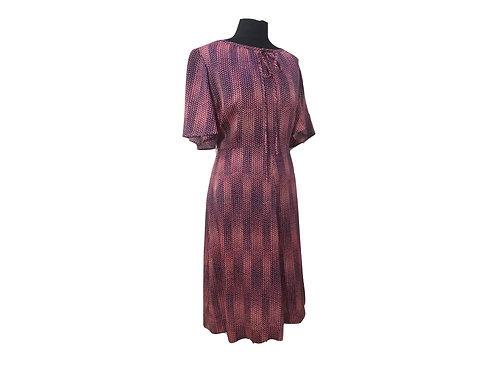 """Vestido """"Oshin"""" seda (Vintage Japonés)"""