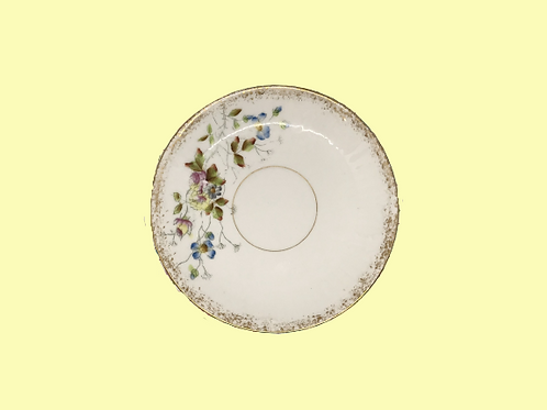 "Plato pequeño de porcelana ""Josefa de Baviera"" 1890's"