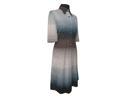 "Vestido ""Urara"" (Vintage japonés)"