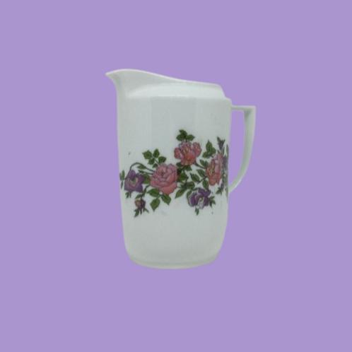 """Jarrita de leche de porcelana checoslovaca (Victoria) """"Bárbara"""" 1920's"""