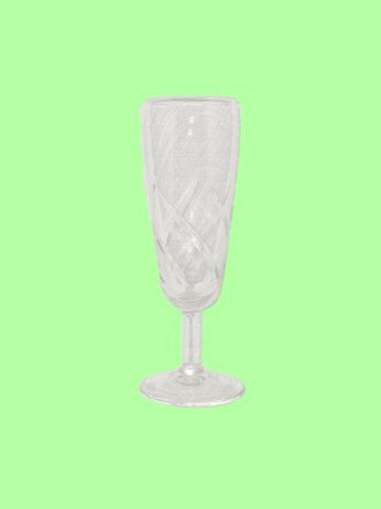 "Copa de cristal tallado ""Carlota"" 1960's"
