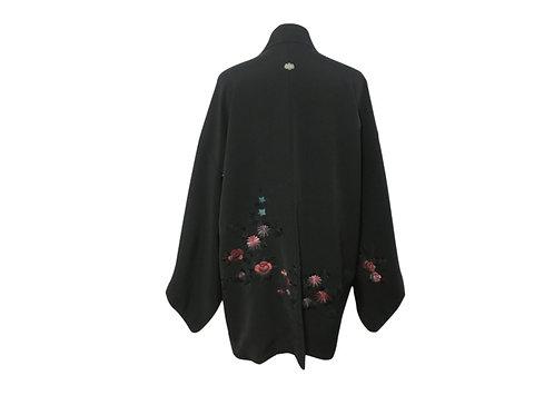 """Kimono (Haori) Seda """"Masumi"""" (Sin Estrenar) Bordado a mano"""