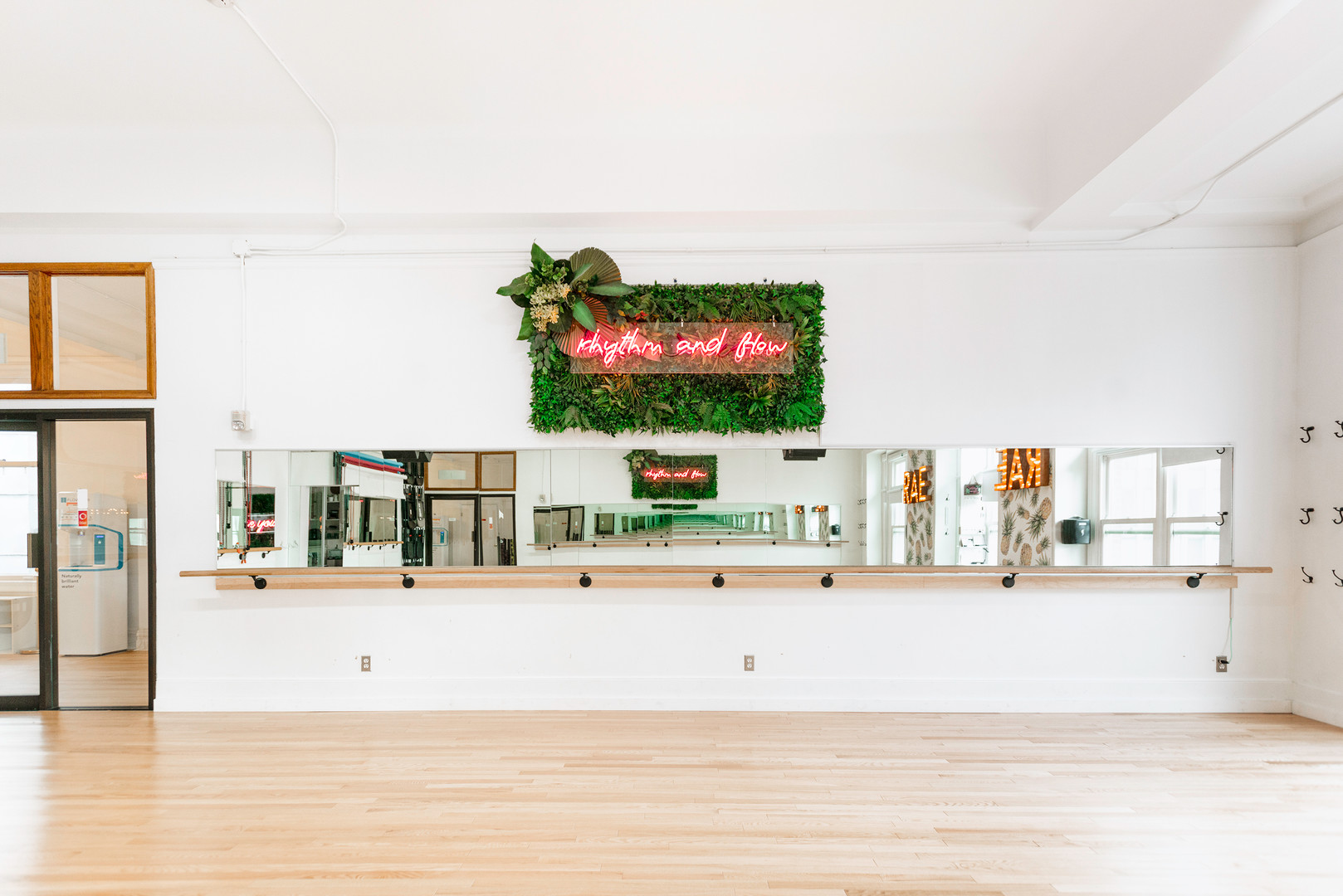 Rae Studios Dance Studio with bright natural window light San Francisco Bay Area
