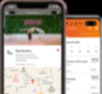 Rae Studios MindBody mobile app on iPhone & android phones
