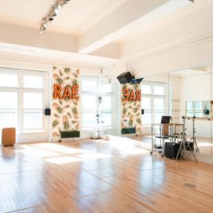 Rae Studios Dance Rehearsal Space Ballet Stretch Bar