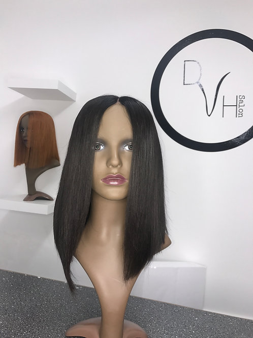 Lace Front long straight bob Wigs