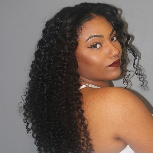 Virigin Curly Hair(Brazilian, Malaysian Hair)